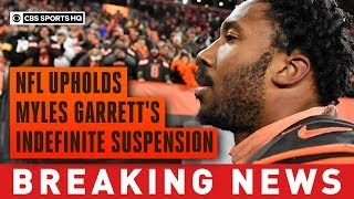 NFL upholds Myles Garrett's suspension, reduces Pouncey's suspension to two games | CBS Sports HQ