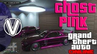 GTA 5 Online | Ghost Pink Paint Job 1.43 *Midnight Pink* (GTA 5 Online Super Sport DLC Vehicles)