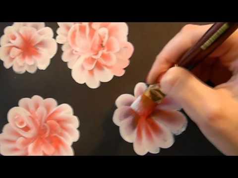 Видео как нарисовать цветы