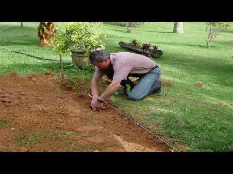 Treinamento de Jardineiro - Corre��o do Solo