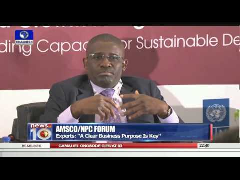 News@10: VP Osinbajo Assures Power Generation Will Hit 5,000MW Before Year Ends 29/09/15 Pt. 3