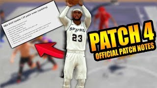 NBA 2K20 PATCH 4 IS HERE!!!! OFFICIAL 2K20 PATCH NOTES FOR PATCH 4!!!
