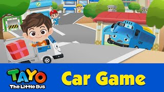 (EN) [Tayo Car Game] #08 Delivery Truck