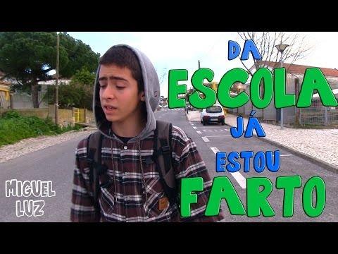 Da Escola Já Estou Farto (Paródia Musical)