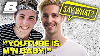 JEREMY & LINKTIJGER: YOUTUBE GAAT BOVEN DE LIEFDE! | SAY WHAT? - Concentrate BOLD