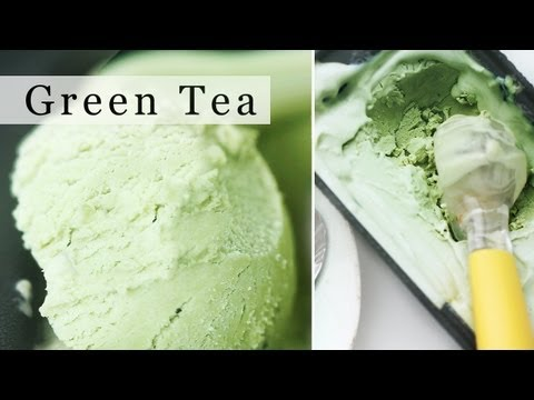 Green Tea Ice Cream. No-Machine Matcha Ice Cream Recipe