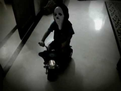 Real Ghost Driving Harley Davidson Caught On Tape 2011 video