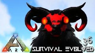 ARK: SURVIVAL EVOLVED - DEMONIC HORDE ARMY OVIS EQUUS DAEODON !!! E36 (ARK ETERNAL CRYSTAL ISLES)