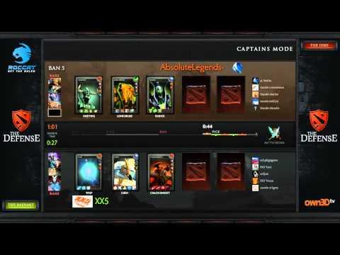 The Defense 3 - Absolute Legends vs XX5 Part 1