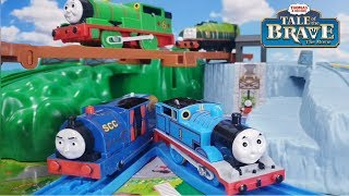 (NO.125)Thomas & Friends Puzzle Tale of the Brave /きかんしゃトーマス パズル 勇者とソドー島の怪物編 토마스와 친구들 video for kids