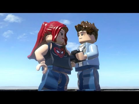 LEGO Marvel Super heroes: Peter Parker and Mary Jane Watson