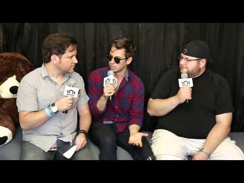 Foster the People - Interview with 101WKQX - Lollapalooza 2014