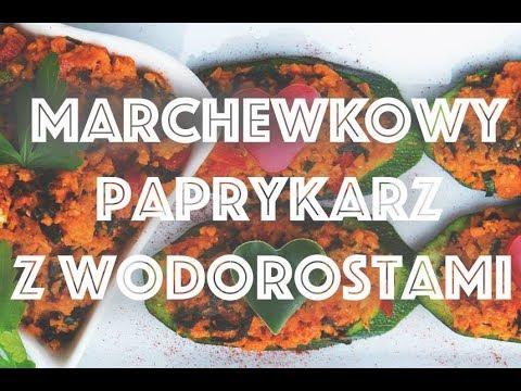 Marchewkowy Paprykarz Z Wodorostami Wakame