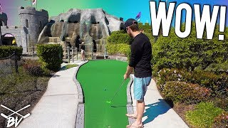 MINI GOLF HOLE IN ONE AND MORE AT DRAGON'S LAIR MINI GOLF!