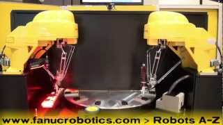Robotic Key Fob Assembly with the FANUC M-1iA Four-Axis Robot -- FANUC Robotics