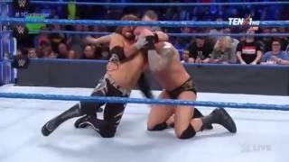 Randy Orton vs AJ Styles Smackdown 7 March  2017 || No. 1 Contenders match