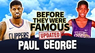 Paul George | Before They Were Famous | LA Clippers w Kawhi Leonard