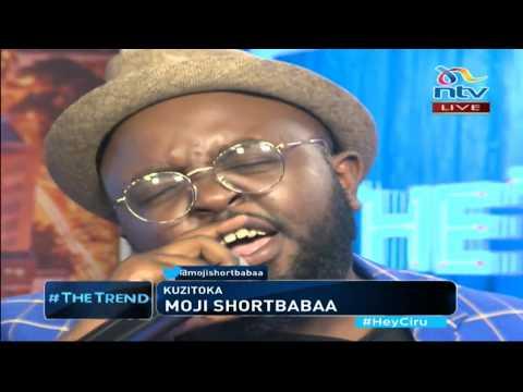 Moji Shortbabaa of gospel duo Kelele takatifu performs his new single 'Kuzitoka' - #theTrend