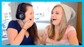 THE WHISPER CHALLENGE! (w/ my sister!)