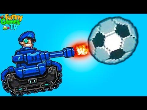 Машинки мультики детям Играем в футбол на тачках Drive Ahead! Sports