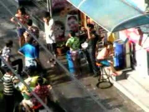 Songkran 2008 Soi4 NANA PLAZA Bangkok Thailand (1)