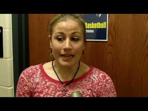 Lacey Yankie Postgame Interview (Feb. 13, 2010)
