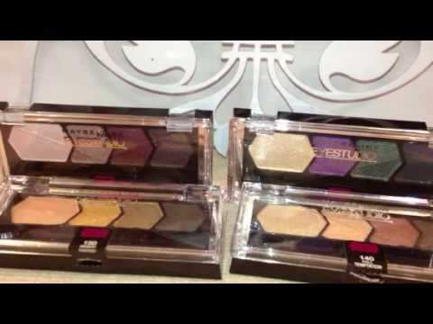 Review and swatches fall 2013 maybelline eyestudio quads co