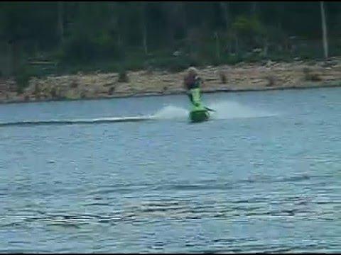 Kawasaki 4stand up jet ski
