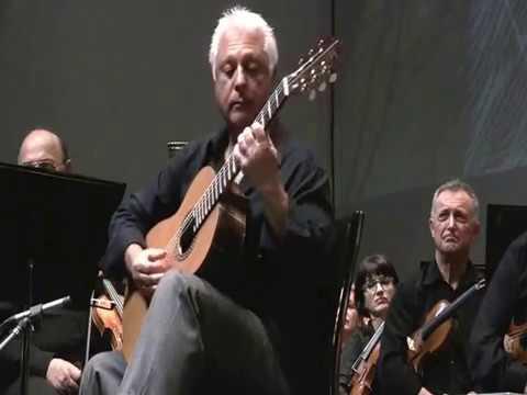Maestro Angel Romero plays Erez Perelman Guitar in live concert