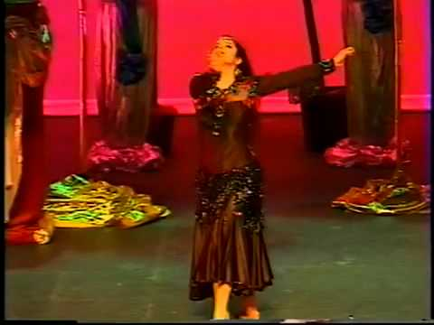 Egyptian Folk Dancing (saidi) Raks Assaya,  By Soraya In Night At The Casbah video