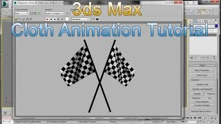 3ds Max Flag Cloth Tutorial