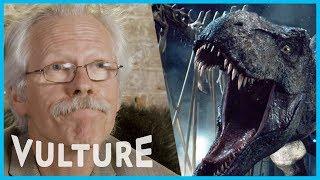 Watch A Dinosaur Expert React to Dinosaur Movies