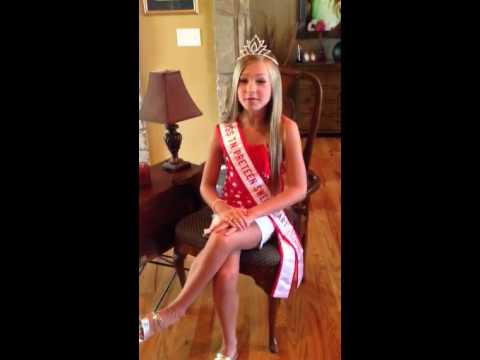 Miss Tennessee Preteen Sweetheart 2014 ~ Kaylee Hollifield