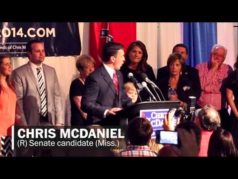 Chris McDaniel's fiery non-concession concession speech in 2 minutes