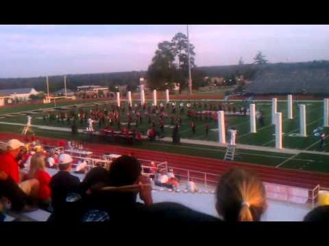 """Harrison Central High School Band 2012 """"The Grid"""""""