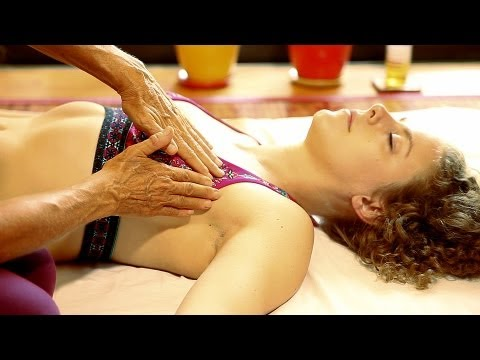 Lymph Drainage Breast Massage Therapy Technique How To. Athena Jezik Psychetruth
