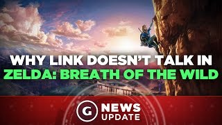 Why Link Doesn't Talk in Legend of Zelda: Breath of the Wild - GS News Update