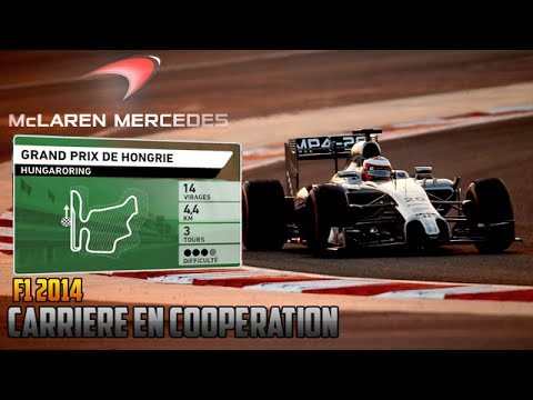 F1 2014 - Grand Prix de Hongrie [Carrière coop' 50%]