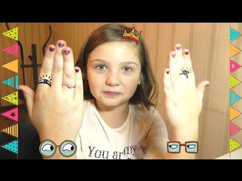 Накрашенные ногти для детей фото