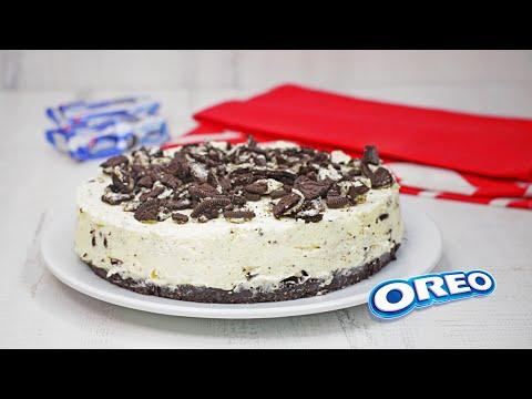 Prepare un cremoso Cheesecake de Oreo - Receta práctica