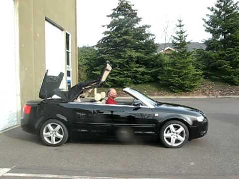 2006 audi a4 cabriolet youtube. Black Bedroom Furniture Sets. Home Design Ideas