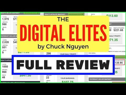 The Digital Elite Review - How To Make $10000 Month Online
