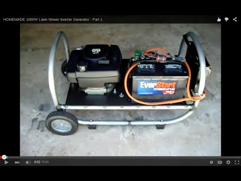 1000W Lawn Mower Generator Inverter - Part 1