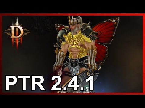 Diablo 3: новый варвар с шипами и в