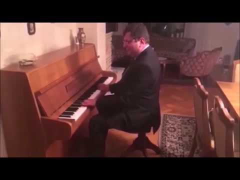 Zbigniew Stonoga Gra Na Pianinie Alan Walker -  Faded Ft.  Alan Walker