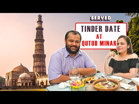 Exploring Delhi's Most Romantic Restaurant Near Qutub Minar | Tinder Date Special | Served #11