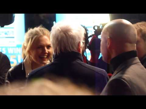 Richard Gere Getting Interviewed at Arbitrage UK Film Premiere on 20th February 2013
