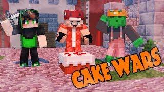 CUỘC CHIẾN BẢO VỆ BÁNH (Minecraft Cake Wars) \ Minecraft Mineplex   Dragons VN