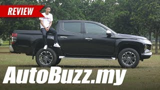 2019 Mitsubishi Triton VGT Adventure X Review - AutoBuzz.my