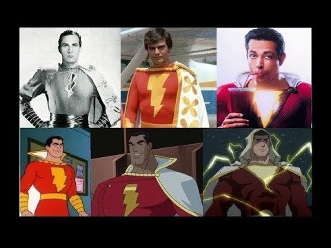 Shazam / Captain Marvel - Evolution in Cinema & TV (1941-2019)